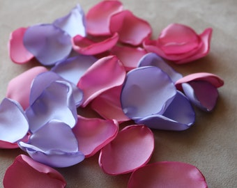 Rose and Lavender Flower Petals * Wedding Decor * Baby Shower * Birthday Party * Table Decor