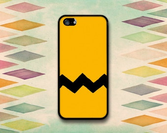 Charlie Brown Peanuts Inspired Case: iPhone 4 // 4s, 5c or 5 // 5s