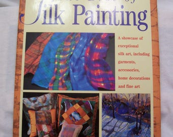 Book, Silk Painting, How to Book