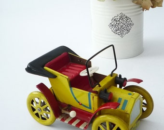 VINTAGE TOY-Racer car - Retro toy - Speedy car-- Vintage car -Old toy - Collector's find-Games for  big boys-