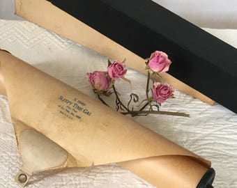 Vintage 1 Player Piano Rolls. 1920s and Later PIANO ROLLS for Player Piano or Interior Decorating. Repurpose For Musical Wall Decoration.