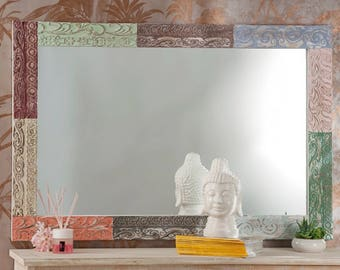 Mirror with new wood frame art. 51572 Free Delivery