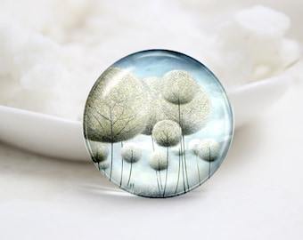 10mm 12mm 14mm 16mm 18mm 20mm 25mm 30mm Handmade Round Photo Glass Cabochons Cover (P1244)