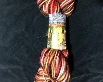 Lumberjack Worsted Superwash Hand Dyed Yarn 200 yds