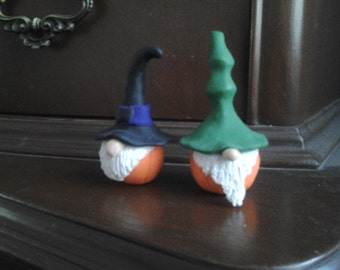 Halloween Pumpkin Knomes