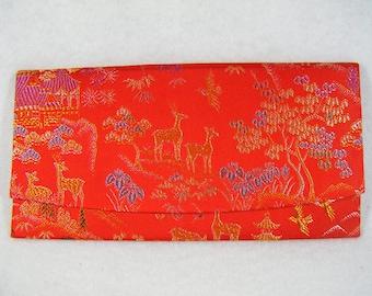 Vintage 80's Japanese Scenery  Flat Wallet