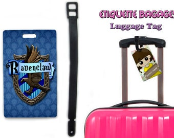 harry potter ravenclaw -  #1-044 - luggage tag name