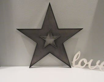 Rustic Star Decor | Etsy