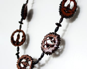 Walnut necklace