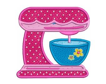 KITCHEN 5 - Machine Applique Embroidery - Instant Digital Download