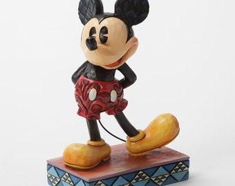 "Disney Jim Shore Mickey Mouse ""The Original"" New In Box"