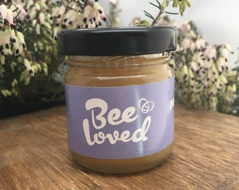 BeeLoved - 42g / 1.5oz- Pure Heather Honey - Raw straight from the hive
