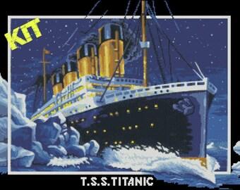 KIT Punto de Cruz, Titanic