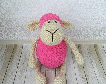 Crochet Sheep, Amigurumi Sheep, Crochet Lambie, Soft toy, Gift for Baby, Stuffed Sheep, Baby Toy