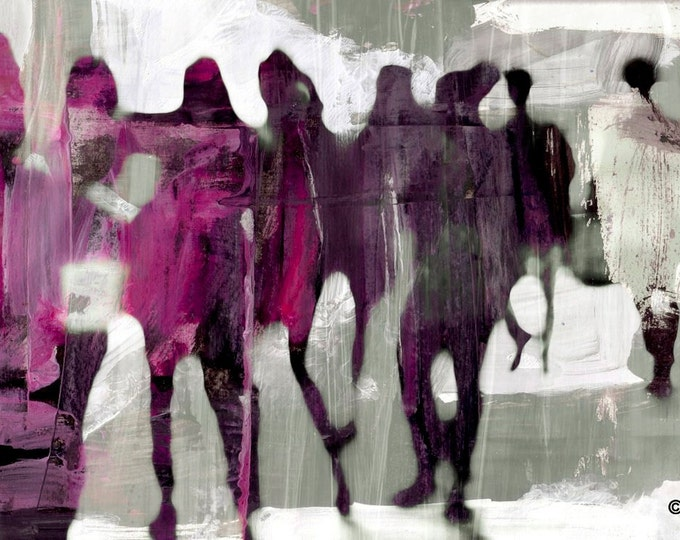 URBAN SHADOW VIII by Sven Pfrommer - Artwork is ready to hang