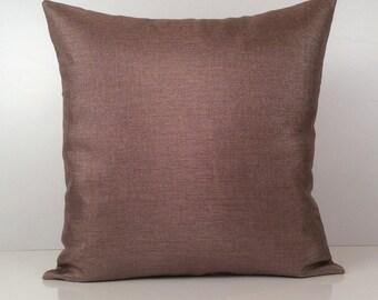 Light Purple Pillow, Throw Pillow Cover, Decorative Pillow Cover, Cushion Cover, Accent Pillow, Linen Blend Pillow, Decor, Silver Sparkles