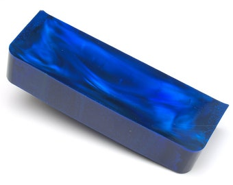 Aurora Opal - 119.75 g, Rough Opal, Opal for Opal Jewellery, Opal Carvings or Opal Inlays (Lab Created Opal, Dark Blue Opal)