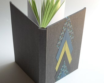 Gray and Chevron Datebook and Address Book