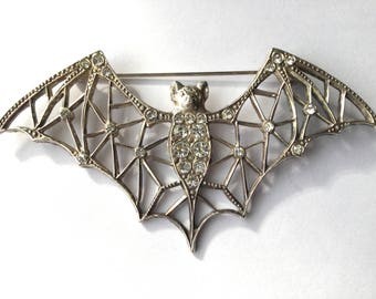 Deco Bat Brooch