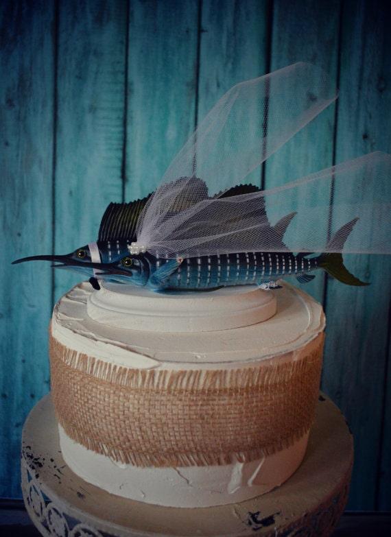Marlin Wedding Cake Topper Sport