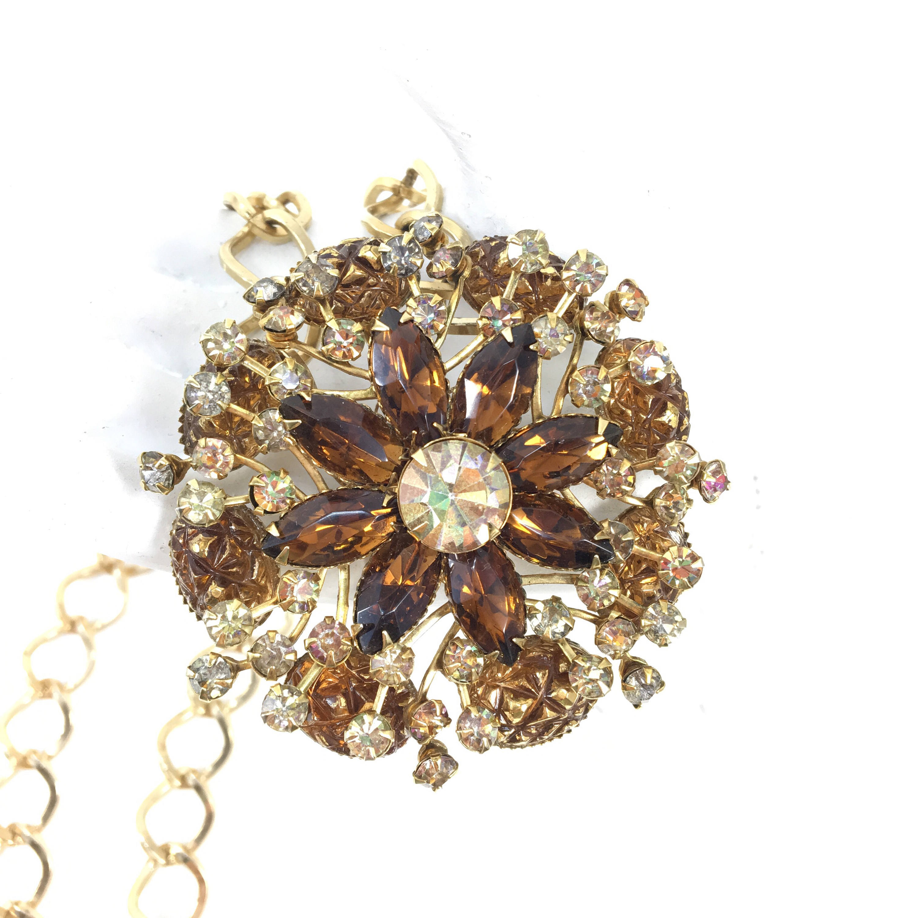 buccellati by necklace lotfinder brooch pendent details diamond a and necklacebrooch hgk sapphire lot