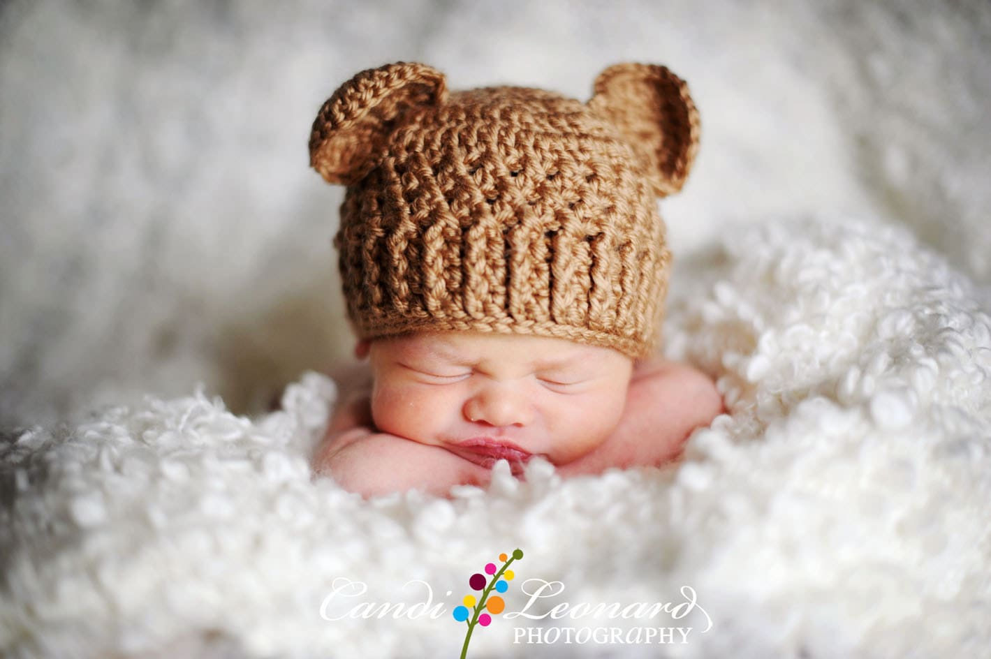 how to knit a baby bear hat hat