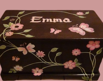 Butterfly Toy Box Custom Designed