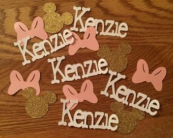 Confetti,Minnie Mouse birthday party,Minnie Mouse confetti,Birthday party,Birthday party confetti,Mickey Mouse birthday party,First birthday