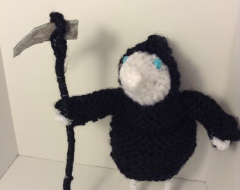 Death of Rats - knit doll