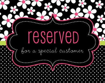 Reserved Listing for Diana Figueroa