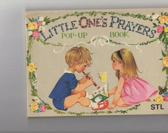 DEAN Vintage Pop-up Book- Little Ones Prayers Book : Janet and Anne Grahame Johnstone- 1968