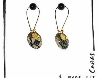 Earrings half moon
