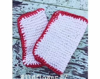 Handknit Washcloth sets