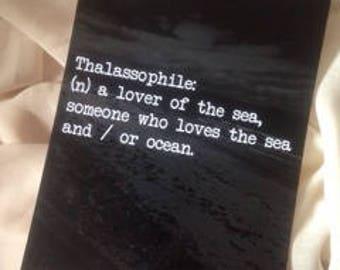 Thalassophile.