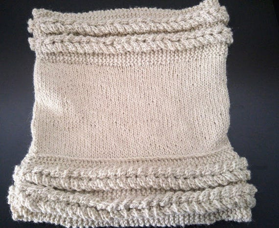 Make Alpaca Alpaca Hoodie Neck Warmer Knitting Pattern