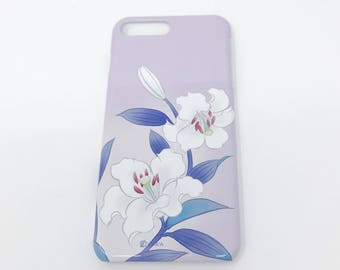 Cell Phone Cover - Lily / Lavender