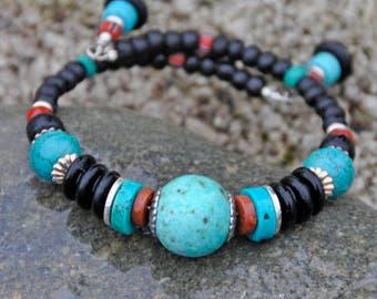 Turquoise Tribal Bracelet!