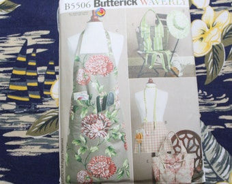 Aprons, Sleeves, Tote and Hat - Butterick 5506
