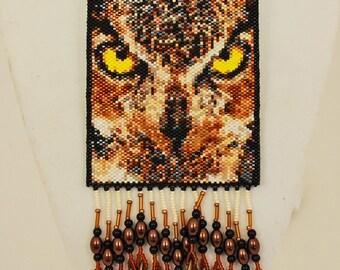Owl amulet bag
