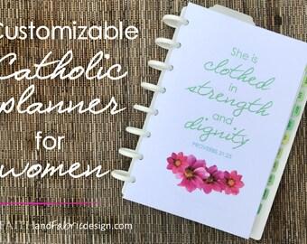 Customizable Catholic Planner for Women - IN PRINT VERSION