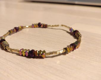 Bracelet with elastic
