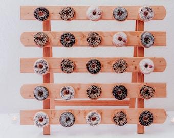 donut bar, donut stand, donut wand, donut wall, donut ständer