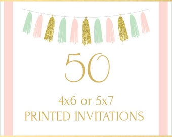 Printing Service, 50 Invitations
