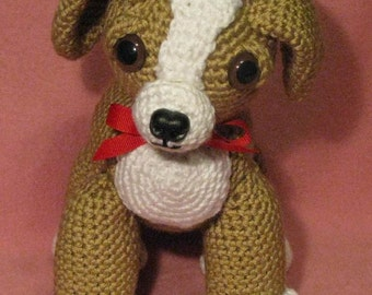 Candy The Sweet Amigurumi Puppy