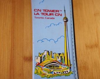 Vintage CN Tower, Toronto Canada Souvenir Pencil Case