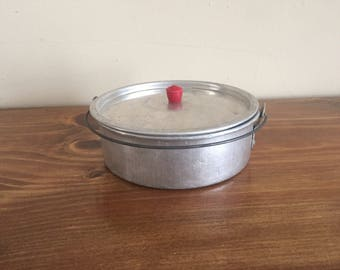 Small Aluminum Pot