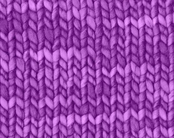 Designer Purple Knitstitch fabric