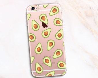 iPhone 7 Case Avocado, iPhone 6 Case Avocados, iPhone 5 Case Fruit, Phone case Vagetable Print - Avokado Glam iPhone 8 plus Case 17