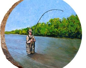 Fisherman Fly Fishing - DPS087