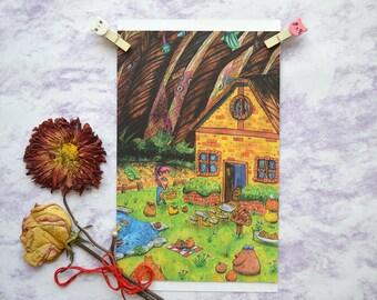 Postcard - Dream